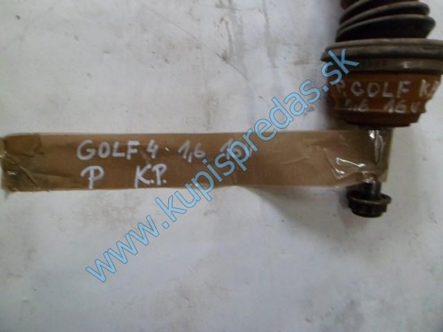 pravá predná poloos na vw golf 4 1,6i 16V, autodiely na volkswagen golf 4,