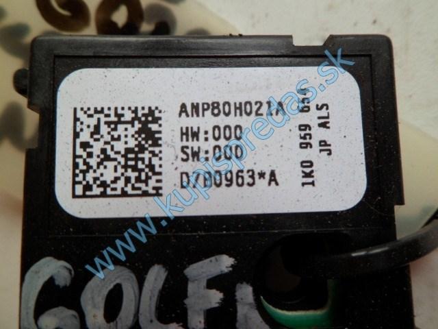 riadiaca jednotka nastavenia volantu na vw voklswagen golf 5, 1k0959654