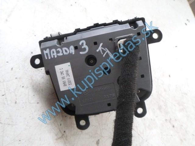 stredový, multifunkčný vypínač, ovládač na mazdu 3, BHN166CMOC