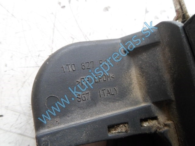 zadný zámok na piate dvere na vw volkswagen touran , 3C9827645A