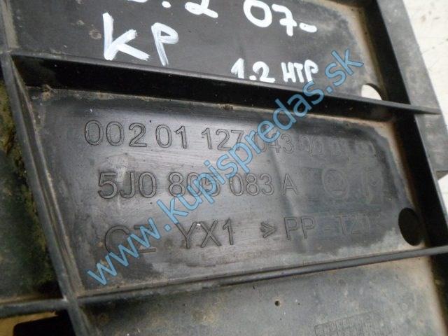 spodný kryt nárazníka na škodu fábiu 2, 5J0805083A