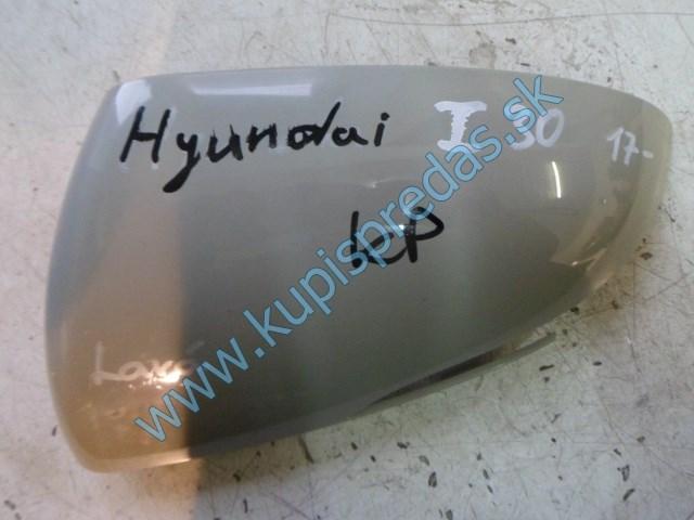 ľavý kryt na zrkadlo na hyundai i30,
