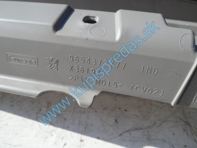 odkladacia skrinka na peugeot 207, kastlík, 9654373777