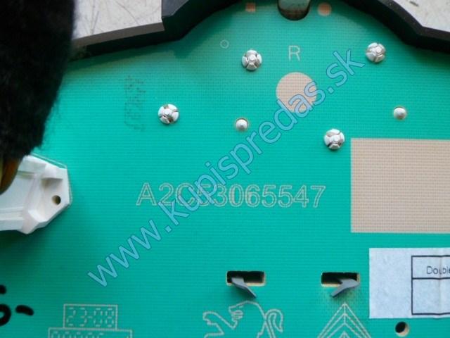 tachometer na peugeot 207 1,4i, A2C53065547