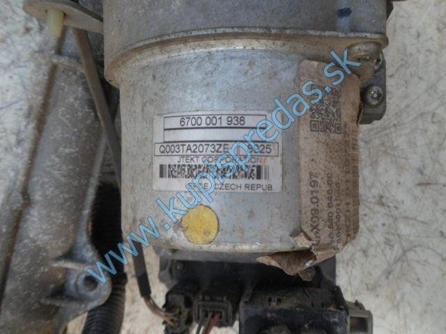 elektrické servoriadenie na peugeot 207, 1,4i, 6700001938