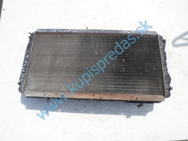 komplet chladiče na fiat ducato 2,8jtd, ventilátory