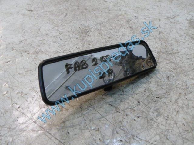 vnútorné zrkadlo na škodu fábiu 2,