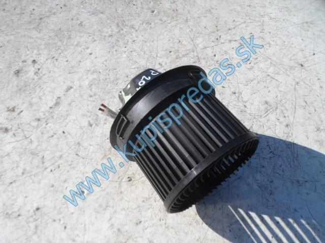 ventilátor na kúrenie na peugeot 207,
